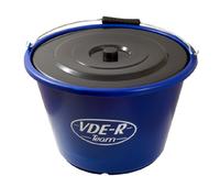 E00-W17 Ведро с крышкой VDE-R, 17 литров