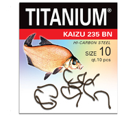 02-P-235BN-10 Крючок Titanium Kaisu (10 шт.), р-р. 10