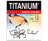 02-P-235BN-12 Крючок Titanium Kaisu (10 шт.), р-р. 12