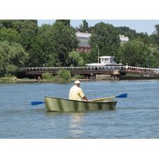 Лодка из композитных материалов Ерик 3,1 плоскодонная
