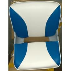 1000022 Кресло SKIPPER (цвет белый/синий)