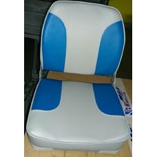 1001201 Кресло (цвет серый-синий)