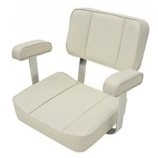 1004001 Кресло  DELUXE CAPTAIN (цвет белый)