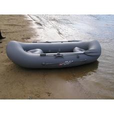 Надувная  лодка  Вуокса 240 (надувной вклеенный пол)