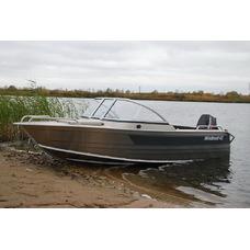 Алюминиевая лодка WINDBOAT 42 ME