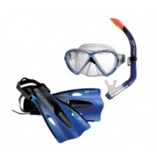 Детский комплект маска+трубка+ласты  CCFJ02P-CB