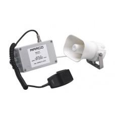 EMH-MS 12V Электронное громкоговорящее устройство (сигнал) с сиреной